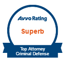 Avvo Rating Superb- Top Attorney Criminal Defense